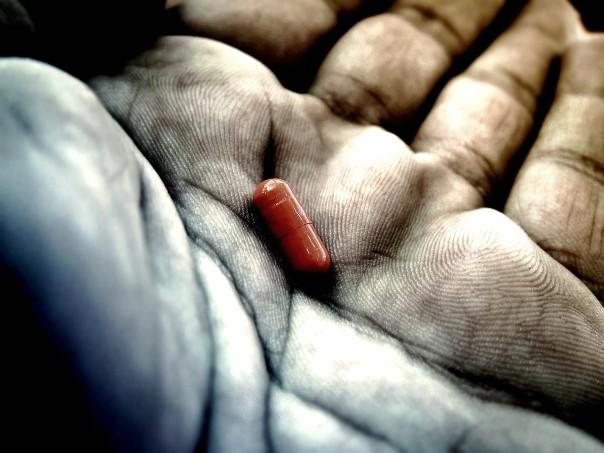 Tablett i hand