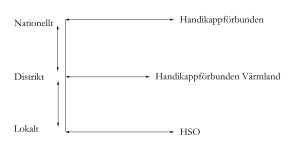 Organisationsstruktur för HSO