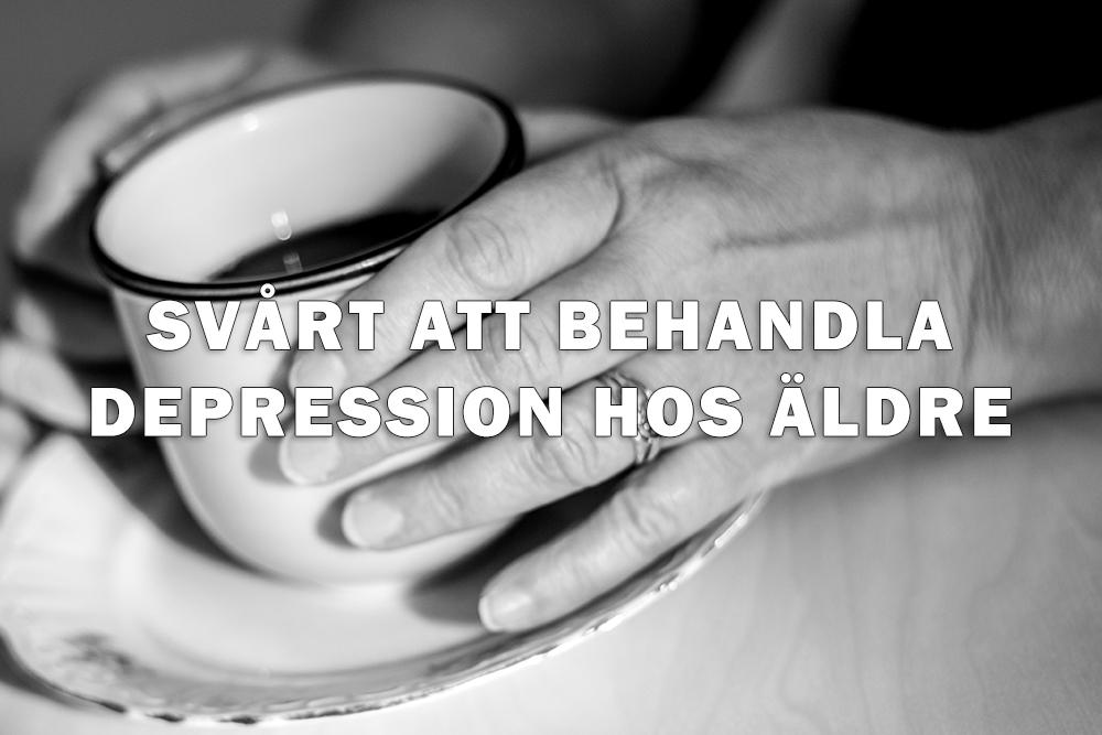 behandling av depression hos äldre
