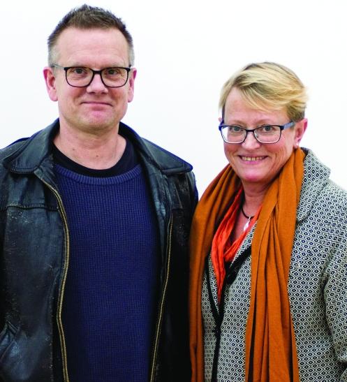 Mårten Jansson och Ing-Marie Wieselgren