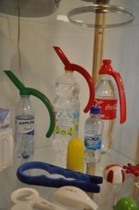 Vattenflaskor, foto Henrik Sjöberg