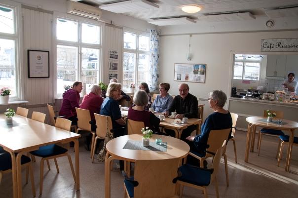 Café Russinet på Seniorernas hus